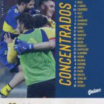 Liga Profesional: Los concentrados de Boca para el duelo ante Colón
